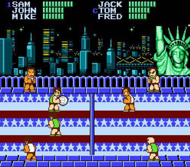 TURN TO CHANNEL 3: 'Super Dodge Ball' is a super fun direct hit on the NES