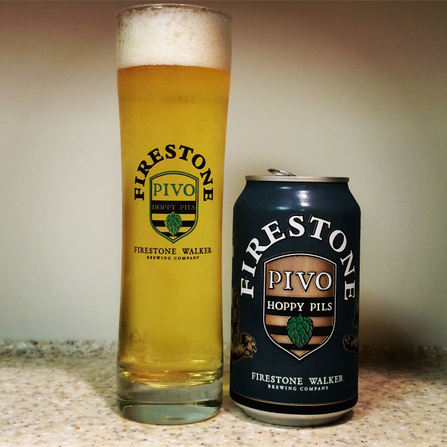 HOW TO PAIR BEER WITH EVERYTHING: Pivo Pils by Firestone Walker Brewing Company