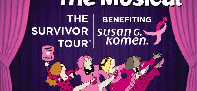 'Menopause the Musical' stars and benefits breast cancer survivors at Kirby Center in Wilkes-Barre on Sept. 24