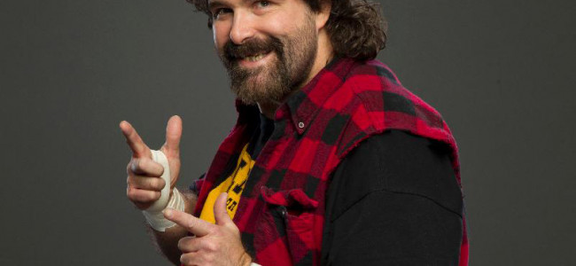 WWE Hall of Famer Mick Foley signing autographs and appearing at PPW event in Hazleton on Sept. 19