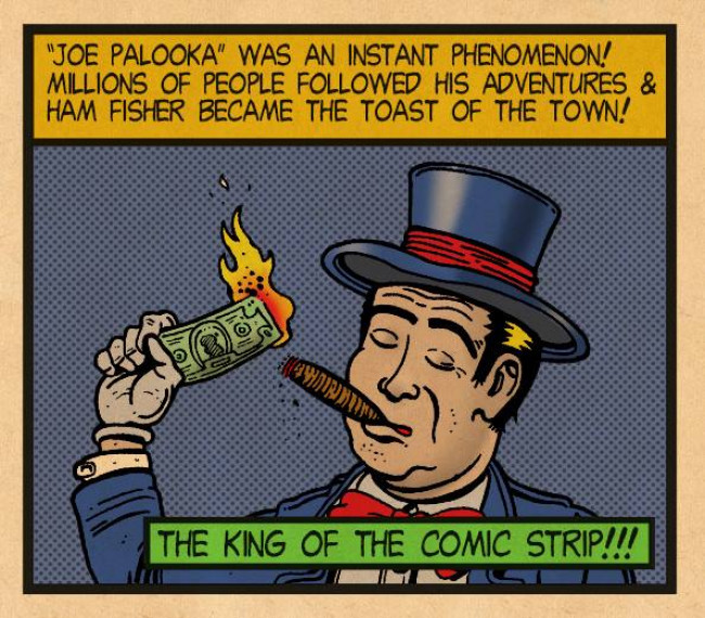 Read this comic telling the strange, sad story of Wilkes-Barre cartoonist Ham Fisher on his 115th birthday