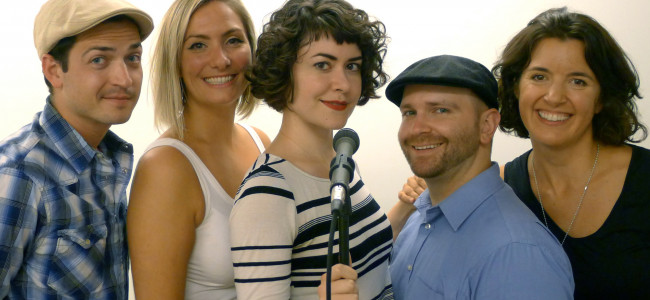 TV actors improvise original audio play 'A Knock on the Door' at Scranton Fringe Fest Oct. 2-4