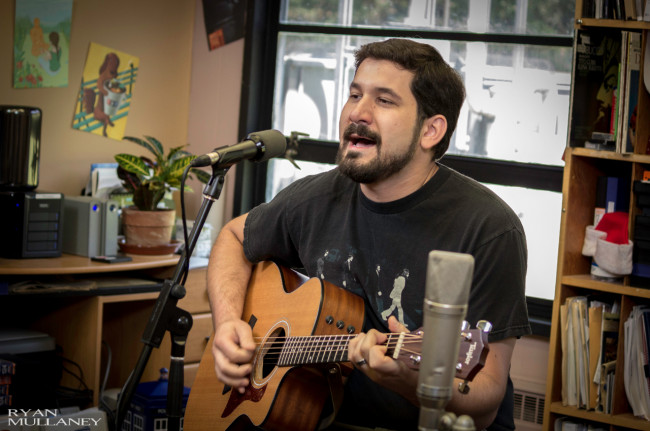 IN THE OFFICE: Brad Parks – Scranton acoustic singer/songwriter