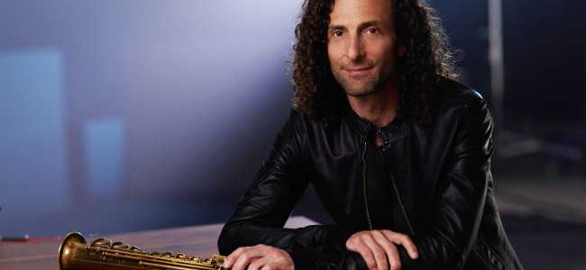 Jazz saxophonist Kenny G playing smooth holiday tunes at the Sands Bethlehem Event Center on Dec. 11