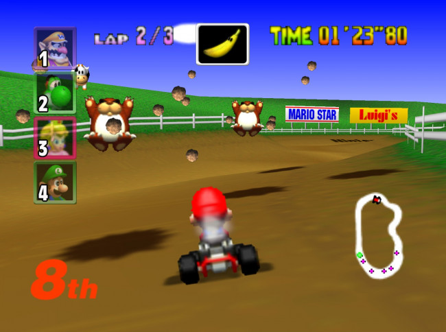 TURN TO CHANNEL 3: 'Mario Kart 64′ set competitive gamers' hearts racing 18 years ago