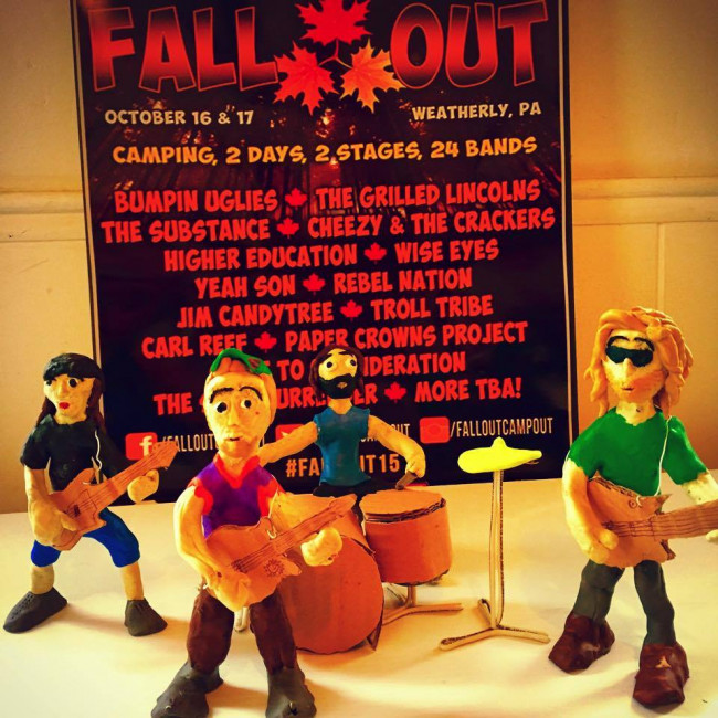 Camp out one last time this year at the Fall Out musical festival in Weatherly on Oct. 16-17