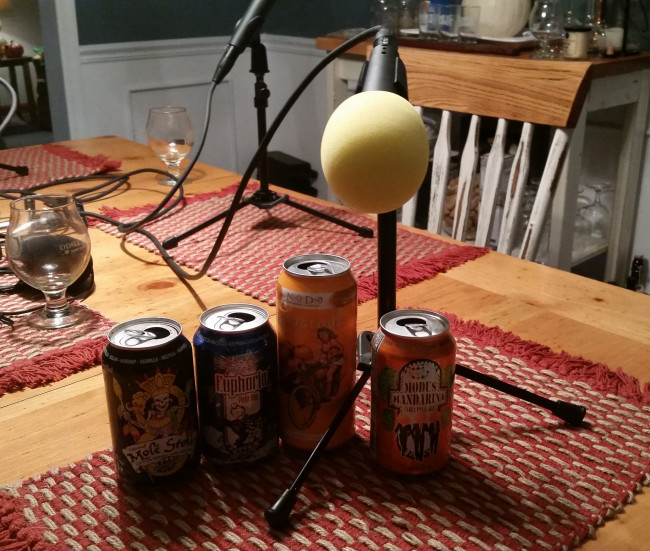 BEER WITH EVERYTHING PODCAST: NoDa Gordgeous and Ska Modus Mandarina, Euphoria, and Autumnal Molé Stout