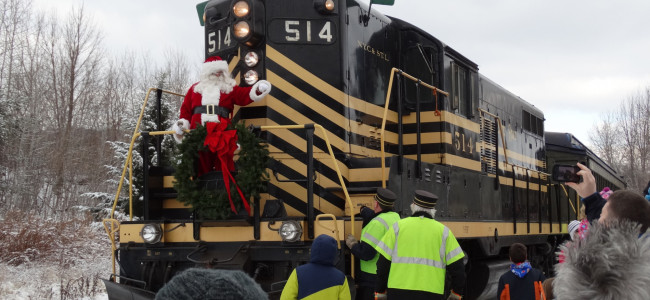 Lackawanna County Santa Train canceled for 2020 by Steamtown National Historic Site and LHVA