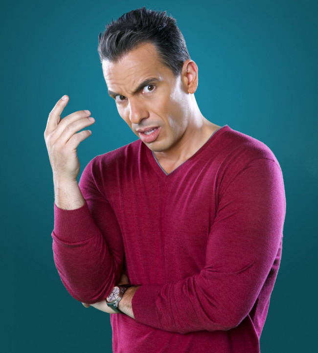 Comedian Sebastian Maniscalco performs at Sands Bethlehem Event Center on April 1