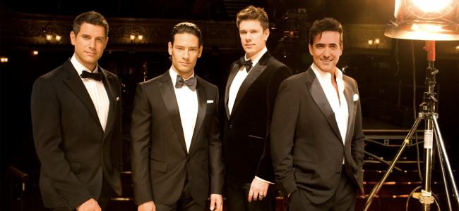 Multinational pop/opera crossover group Il Divo sings at Sands Bethlehem Event Center on Sept. 30, 2016