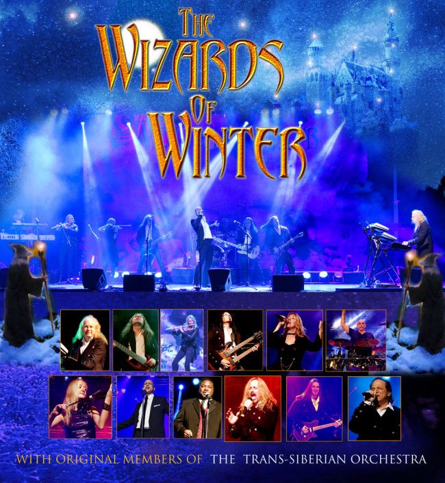 Wizards of Winter storm into Kirby Center in Wilkes-Barre on Nov. 27 with holiday rock opera