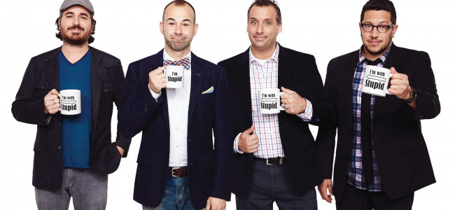 'Impractical Jokers' comedy troupe crack up Kirby Center in Wilkes-Barre on March 26