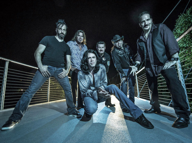 KICK recreate the music of INXS at Mauch Chunk Opera House in Jim Thorpe on July 2