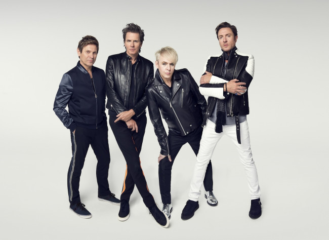 British new wave group Duran Duran performs at  Sands Bethlehem Event Center on April 5