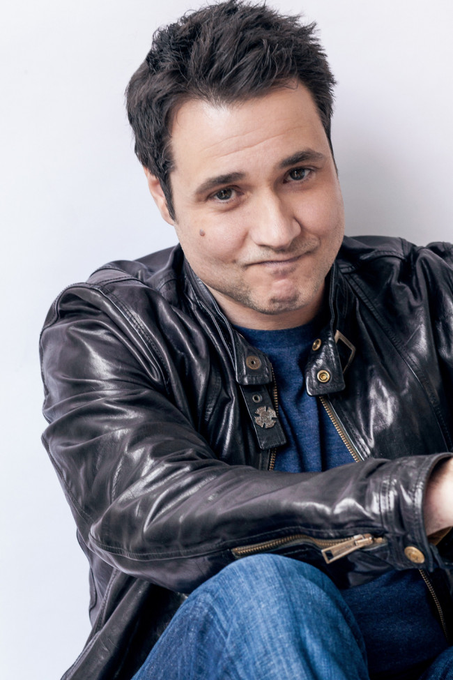 Comedian, 'Rescue Me' star, and 'Top Gear' host Adam Ferrara performing stand-up in Wilkes-Barre on Sept. 16