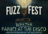 Weezer and Panic! at the Disco headline 2016 Fuzz Fest in Scranton on June 26