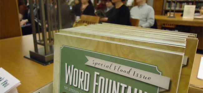 Wilkes-Barre literary magazine Word Fountain now open for submissions until March 31