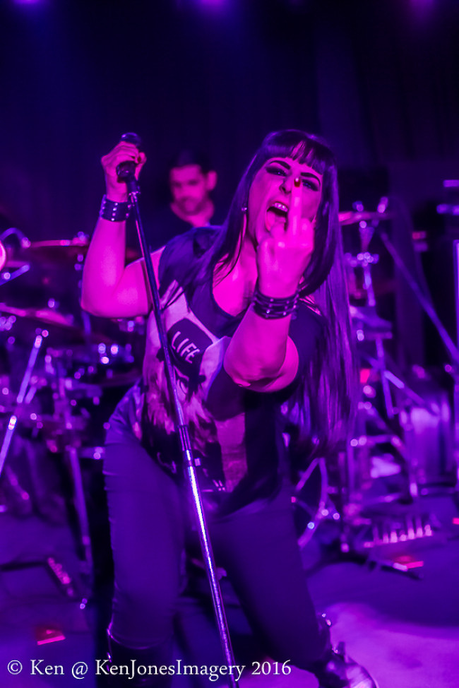 CONCERT REVIEW: Delirium and Charlotte the Harlot tore up River Street like classic metal maniacs