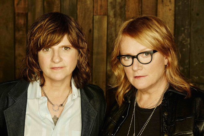 Folk rock duo Indigo Girls perform at Kirby Center in Wilkes-Barre on March 20