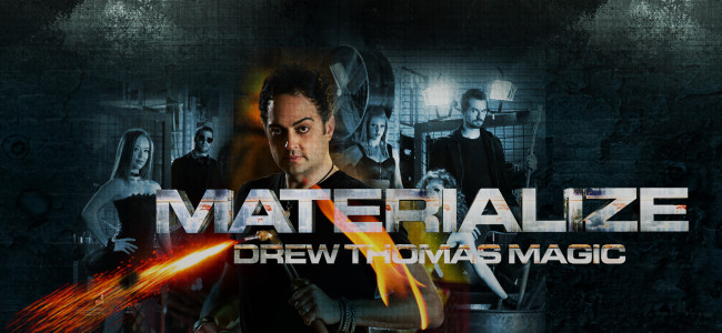 Magician and 'America's Got Talent' finalist Drew Thomas will 'Materialize' in Wilkes-Barre on April 16