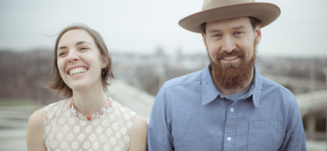 Baltimore folk and roots couple the Honey Dewdrops perform in Hawley on Aug. 5