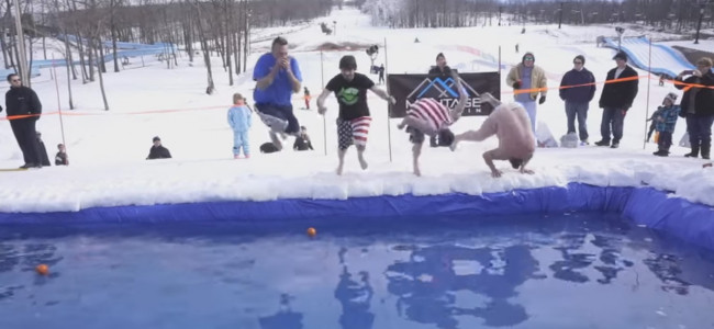 NEPA GAMING CHALLENGE: 'Mario Kart 8′ and the Splashin' with Compassion polar plunge at Montage