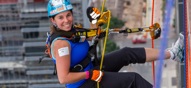 Ever wanted to rappel down a building in Scranton? Go Over the Edge for charity on June 11