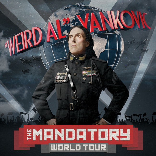 You must see 'Weird Al' Yankovic take Mandatory World Tour to Hershey Theatre on Sept. 13