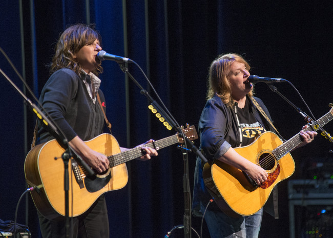 PHOTOS: Indigo Girls and Danielle Howle at Kirby Center in Wilkes-Barre, 03/20/16