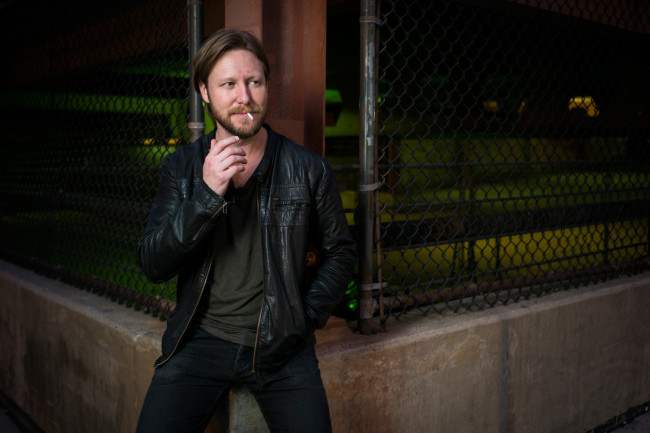Acclaimed singer/songwriter Cory Branan playing Kirby Center's Chandelier Lobby in Wilkes-Barre on Sept. 9