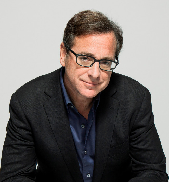 Comedian and TV dad Bob Saget tells dirty jokes at Mt. Airy Casino in Mt. Pocono on Feb. 3