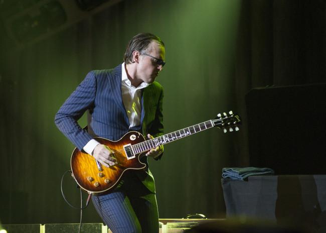 Blues rock guitar legend Joe Bonamassa is back at Kirby Center in Wilkes-Barre on March 11