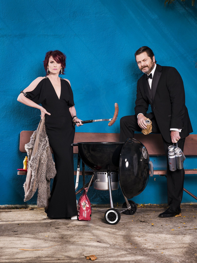 Nick Offerman and Megan Mullally take raunchy comedy tour to Sands Bethlehem Event Center on Aug. 17