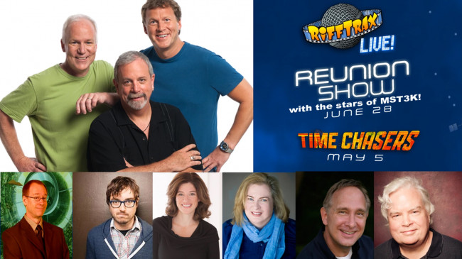 RiffTrax and 'MST3K' stars reunite for live event screening in Dickson City and Stroudsburg June 28