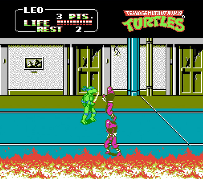 TURN TO CHANNEL 3: 'TMNT II: The Arcade Game' rescued the