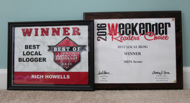 Weekender and Electric City readers recognize NEPA Scene as Best Blog in Northeastern Pennsylvania