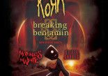 Korn, Breaking Benjamin, and Motionless In White tour together in September and October