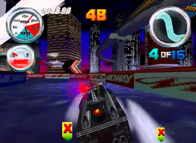 TURN TO CHANNEL 3: N64 brought the arcade rush home with 'Hydro Thunder'