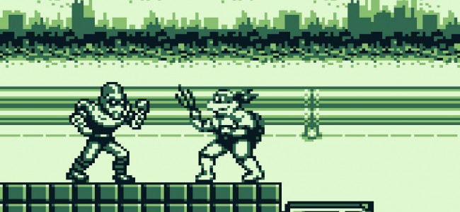 TURN TO CHANNEL 3: 'Fall of the Foot Clan' packed tons of TMNT action into a tiny Game Boy cart