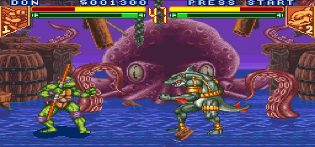 TURN TO CHANNEL 3: 'Tournament Fighters' offered mature fighting game take on TMNT