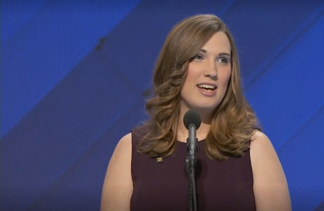 LIVING YOUR TRUTH: Sarah McBride is another woman who made history at the DNC