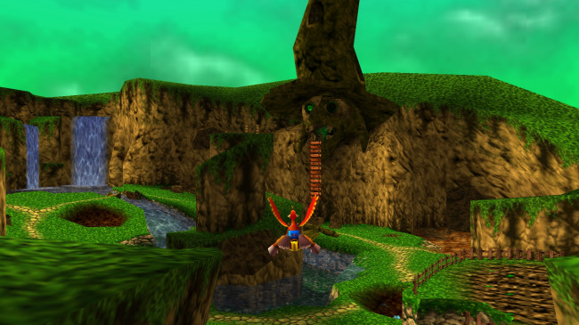 TURN TO CHANNEL 3: 'Banjo-Tooie' built off the original game and pushed N64 to its limits
