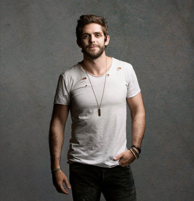 Rising country star Thomas Rhett playing at Mohegan Sun Arena in Wilkes-Barre on March 9