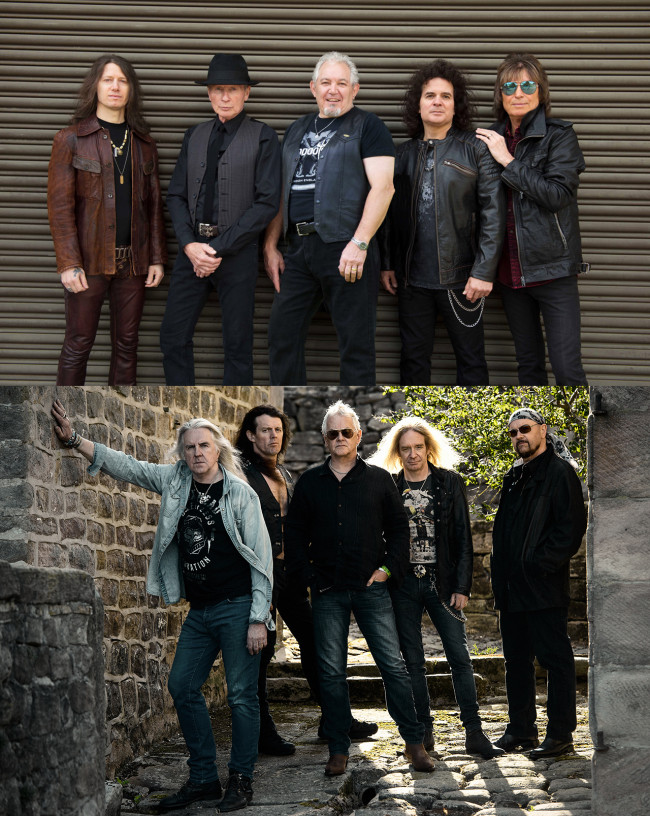Relive the '80s with British rock bands UFO and Saxon at Penn's Peak in Jim Thorpe on April 1