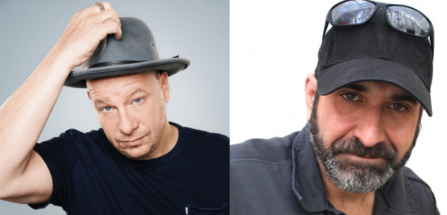 Comedians Jeff Ross and Dave Attell perform at Sands Bethlehem Event Center on March 17