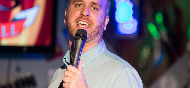 Comedian Ron Babcock returns to Scranton to host Ugly Xmas Sweater Comedy Show on Dec. 21