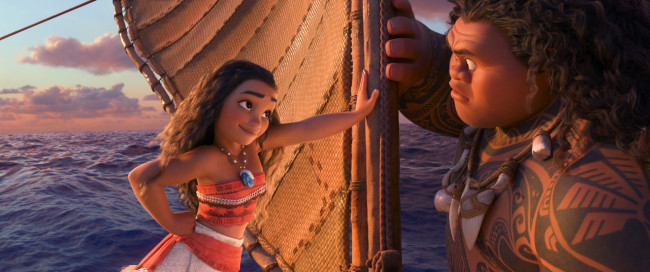 MOVIE REVIEW: Visually stunning 'Moana' rivals 'Frozen' as best Disney animated movie in years
