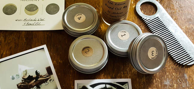 REVIEW: Alchemy Home Company creates the best beard and mustache products in Scranton… and everywhere else