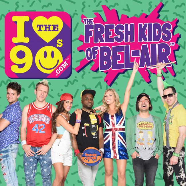 Yo! The Fresh Kids of Bel-Air bring fly 'I Love the '90s' tribute to Penn's Peak in Jim Thorpe on Feb. 4