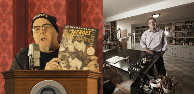 VIDEO: Wilkes-Barre artist Kevin Dougherty using Kickstarter to fund documentary on cartoonist Drew Friedman